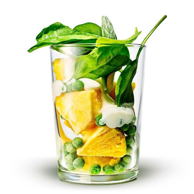 綠拿鐵 菠菜 鳳梨 食譜