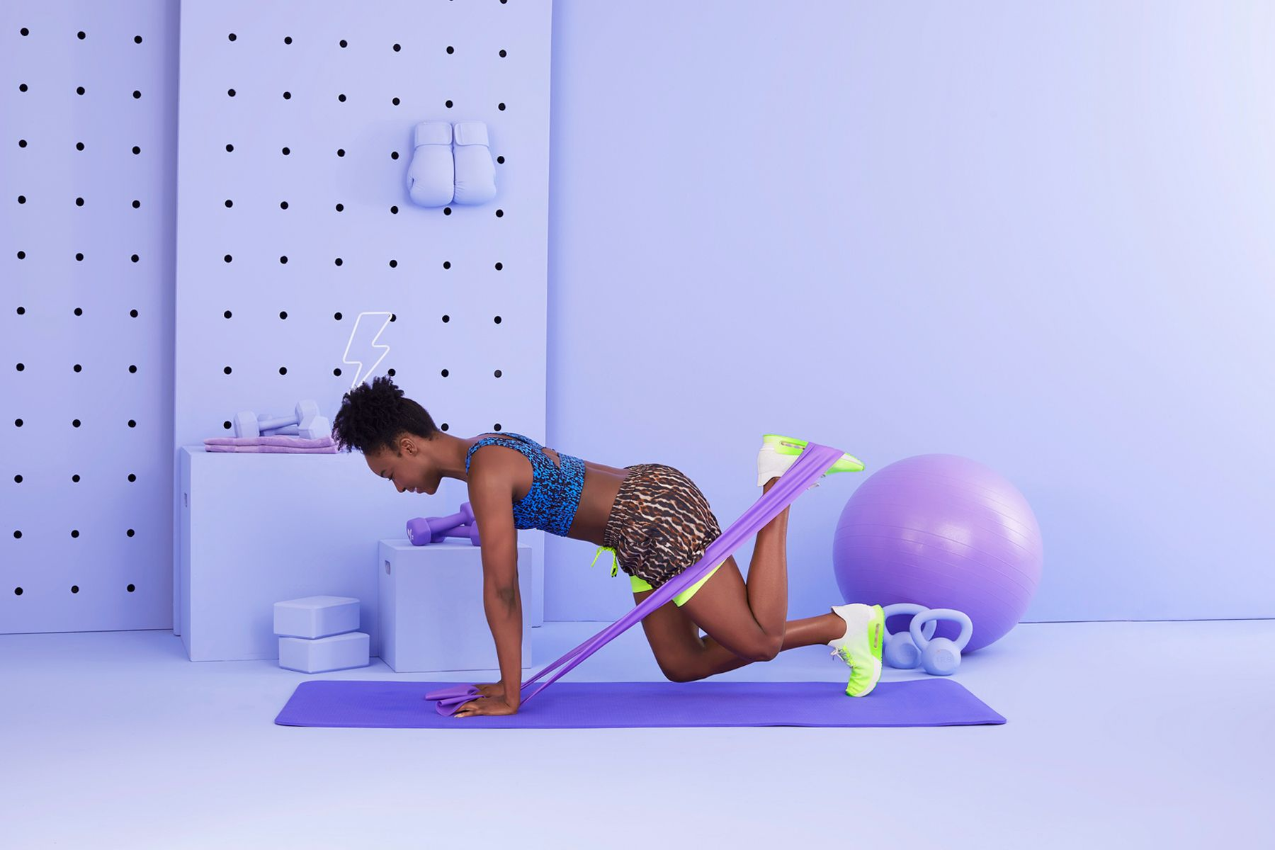 10 Resistance Band Leg Exercises For At-Home Lower-Body Workouts
