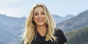 Kaley Cuoco Women's Health