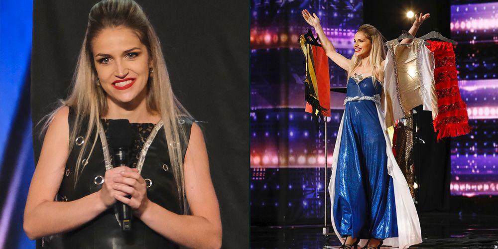 Who Is Quick Change Artist Léa Kyle on 'AGT' 2021? - Léa Kyle on 'America's  Got Talent' Season 16