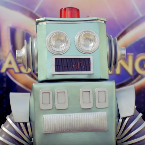 who is the robot the masked singer