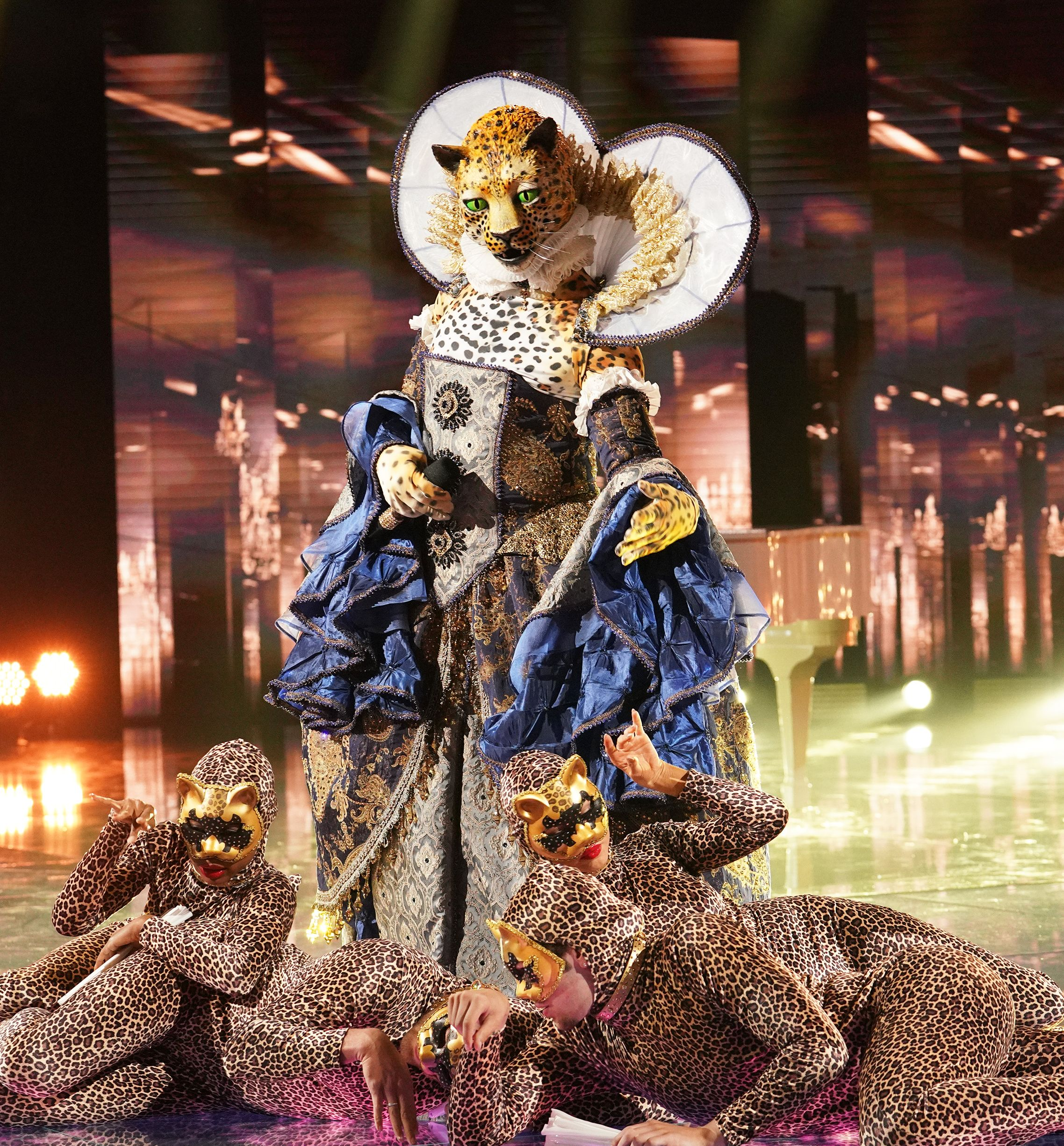 Who Is the Leopard on 'The Masked Singer'? These Fan Theories Are VERY Convincing