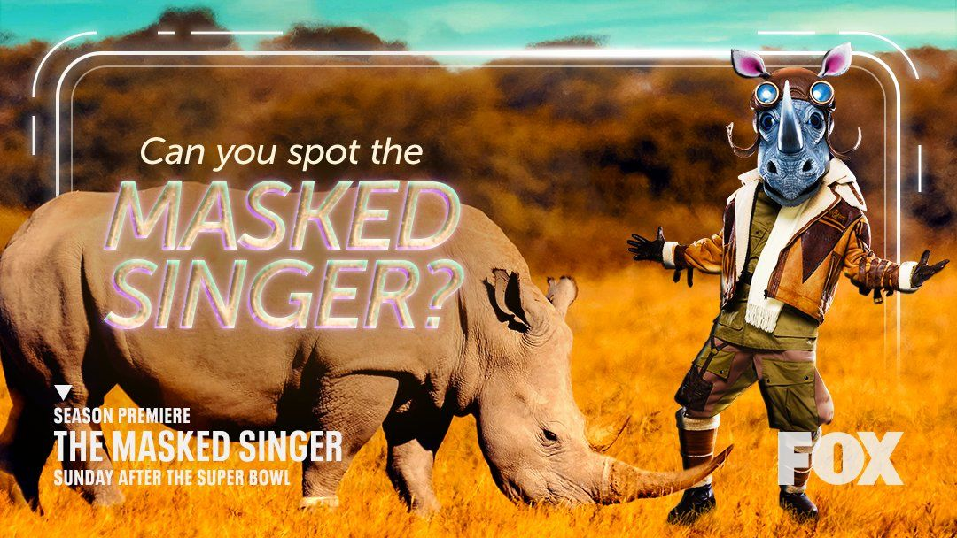 Who Is The Rhino On 'The Masked Singer'? The Guesses Are Wild