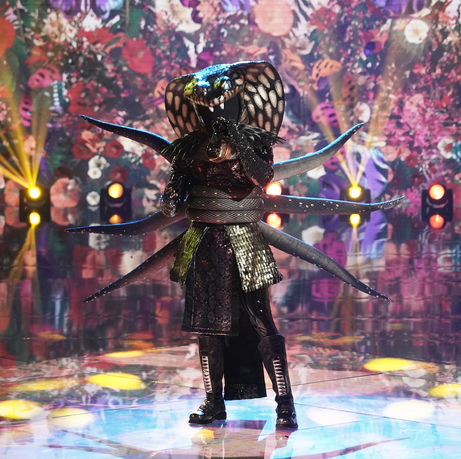 Who Is The Serpent On The Masked Singer Clues Guesses