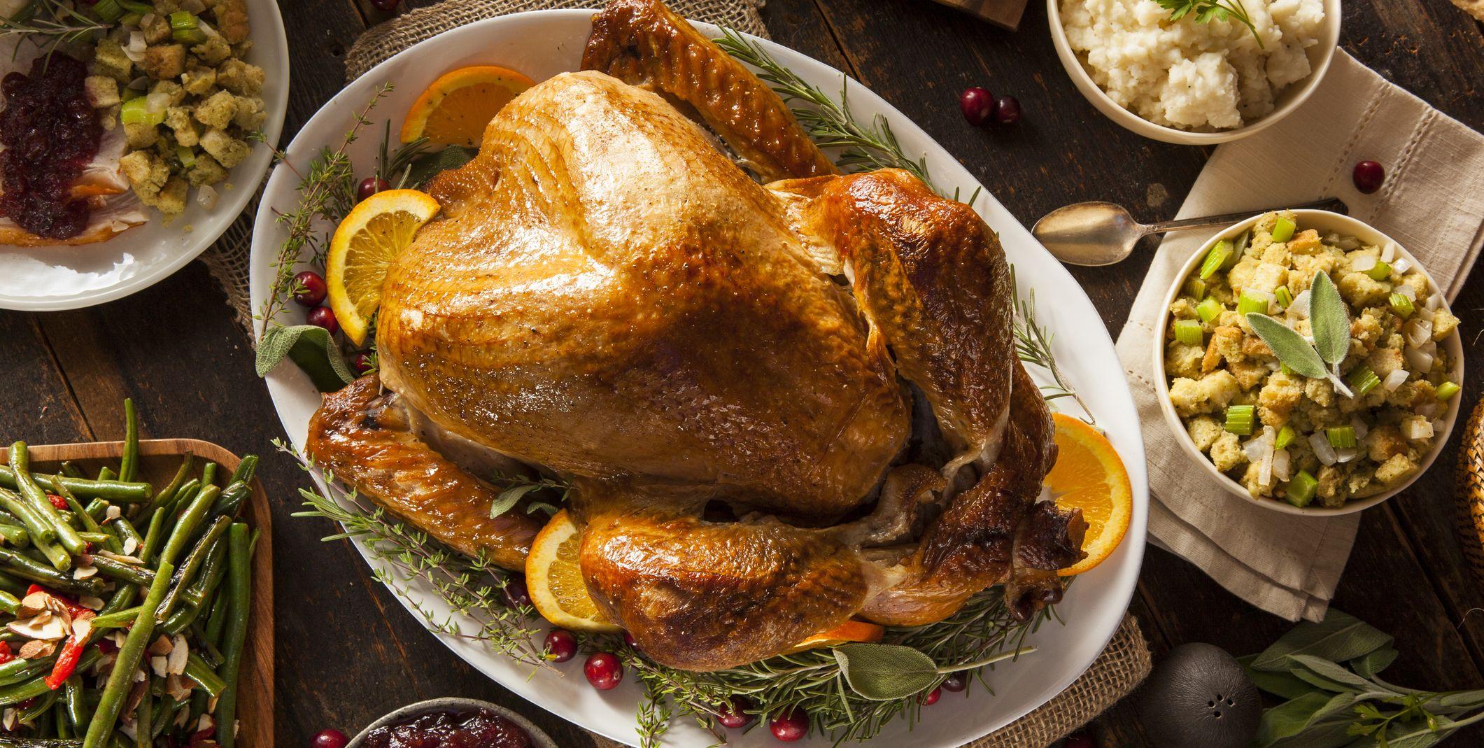 turkey upside down