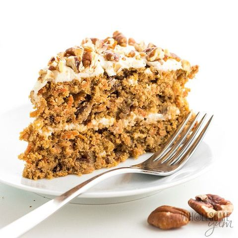 wholesome yum carrot cake