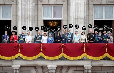 royal balcony RAF 100