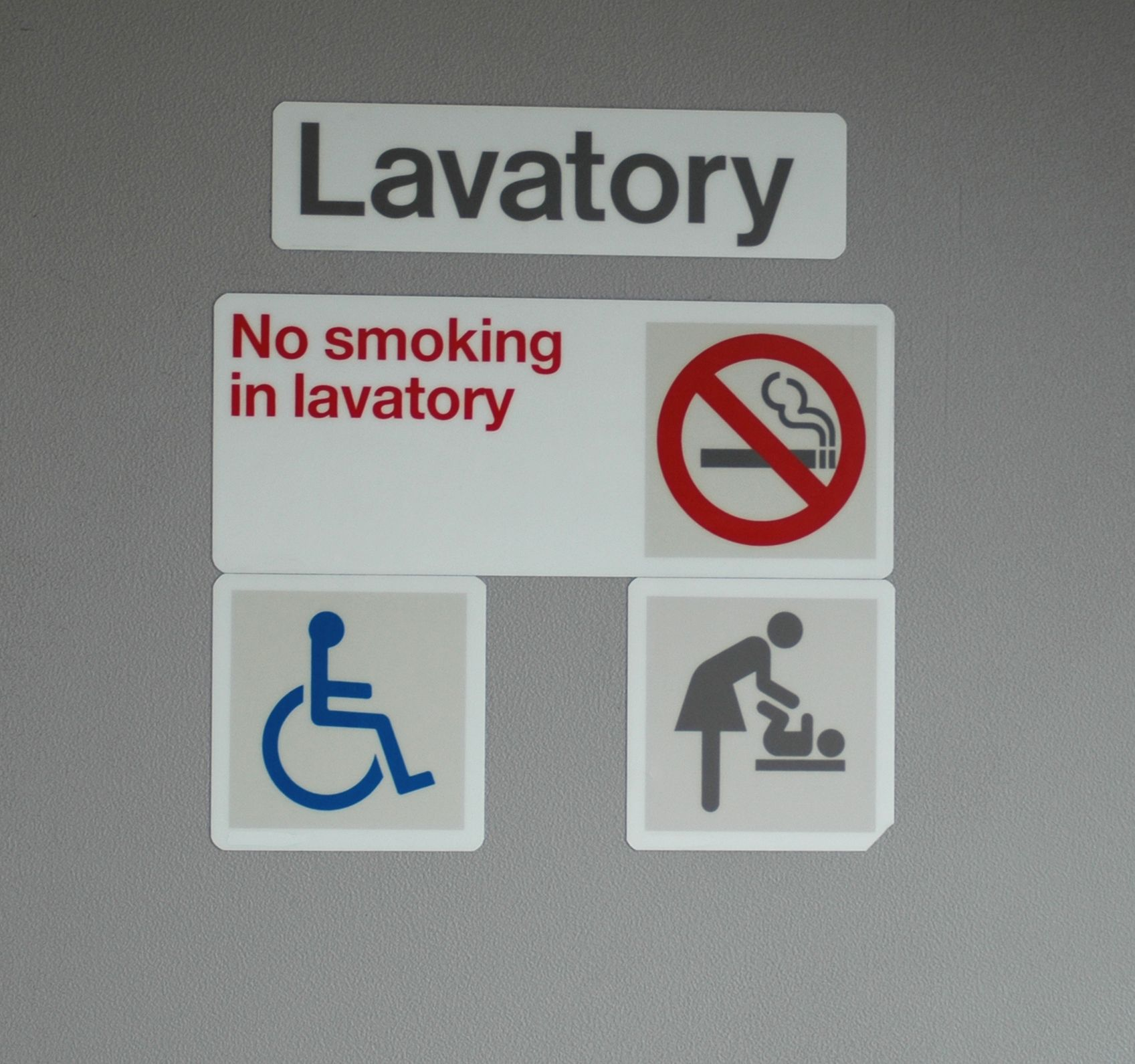 Why airplane toilets still contain ashtrays, even though you can't smoke