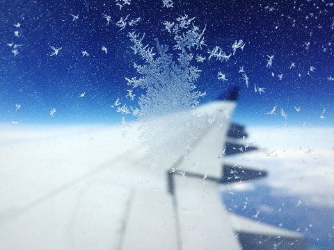 This is why it's always so cold on planes