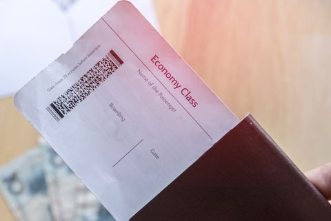 Flight attendants don't ask to see your boarding pass to direct you to your seat