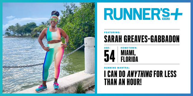 Runner's World+ Member: Sarah Greaves-Gabbadon