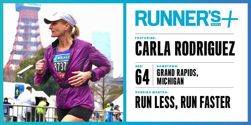 Runner's World+ Member: Carla Rodriguez