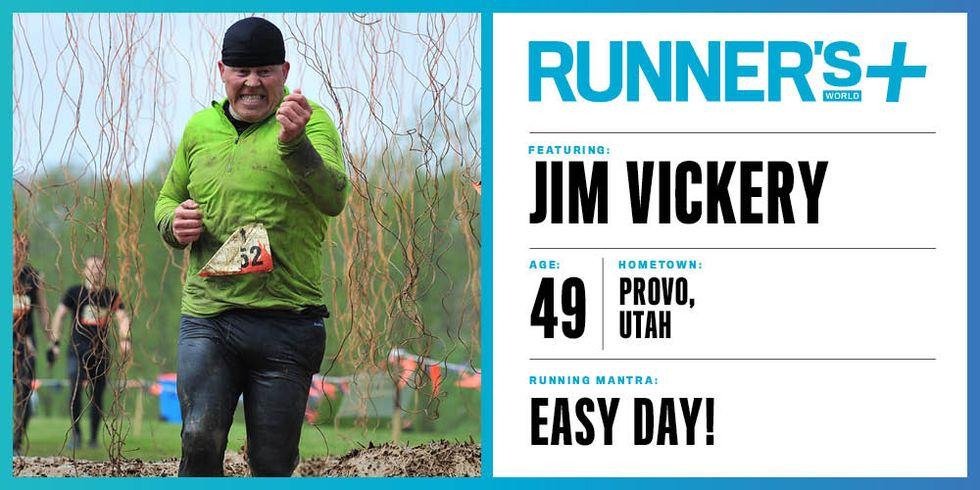 Runner's World+ Member: Jim Vickery