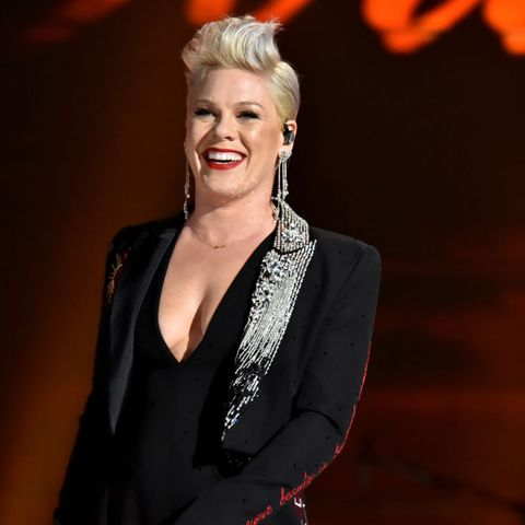pink not at the grammys