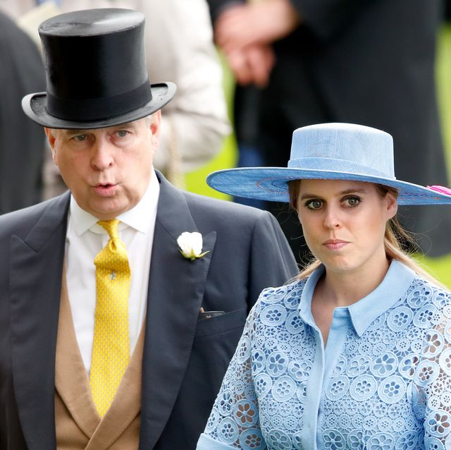 why prince andrew was allowed to walk beatrice down the aisle