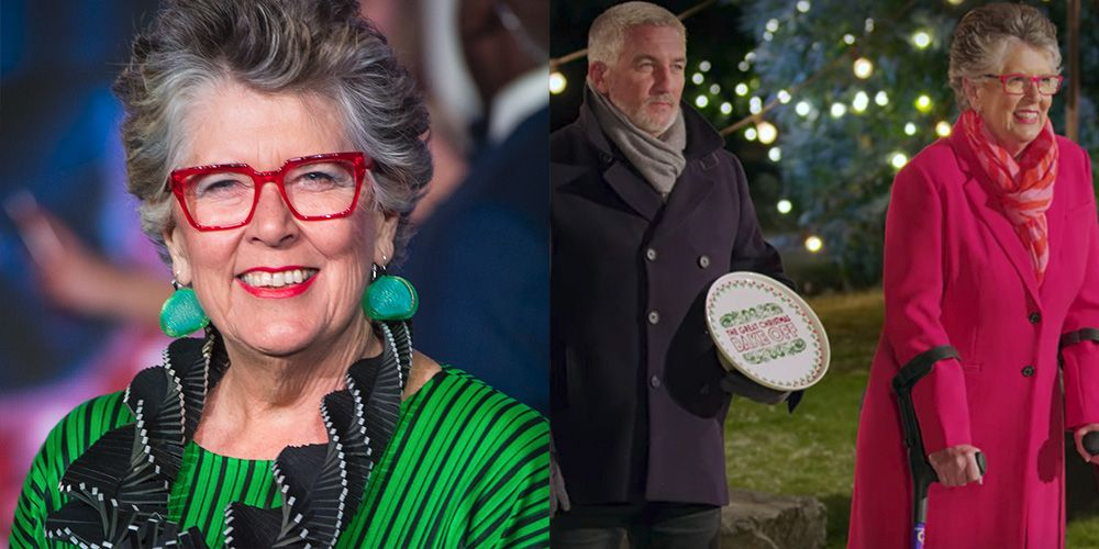 Prue Leith Opens Up About Her Injury on 'The Great British Baking Show'