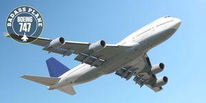 ボーイング 747,飛行機,旅客機,Plane
