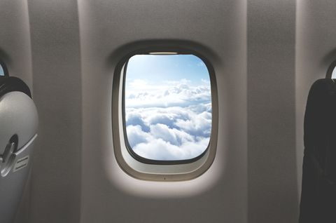 So this is why your blinds must be up for take off on an airplane