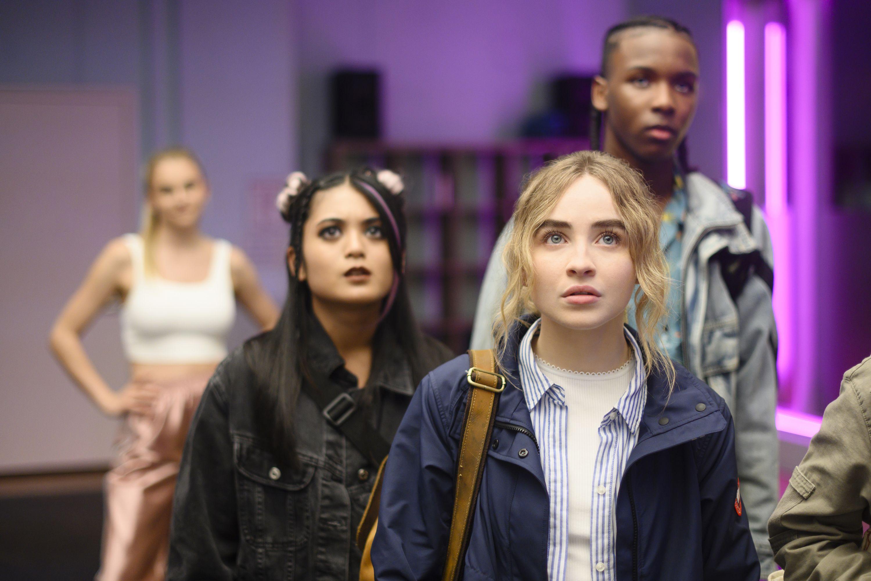 Sabrina Carpenter Talks Work It On Netflix And Her Broadway Debut