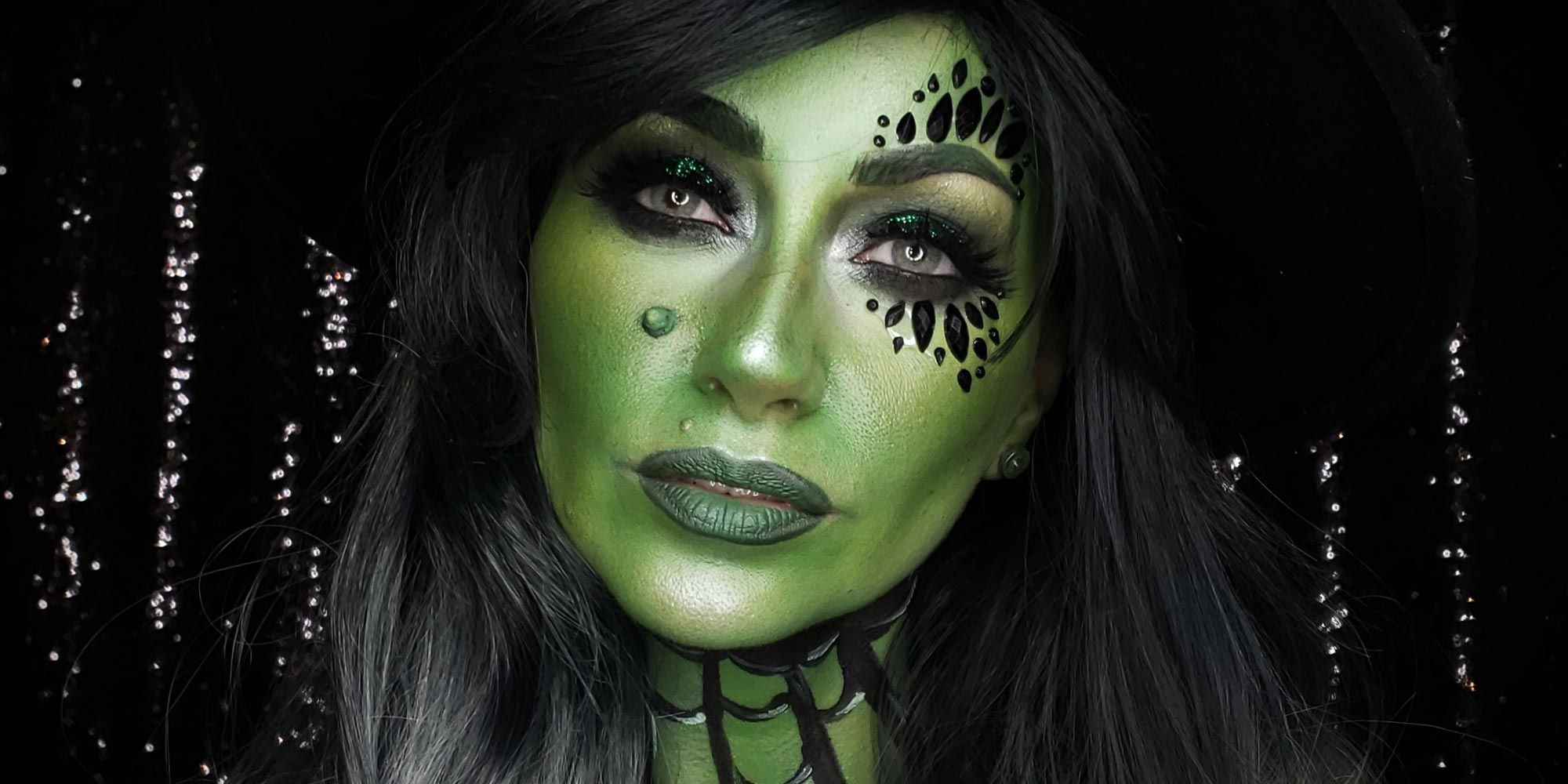 Wicked Witch Makeup Tutorial Witch Costume For Halloween
