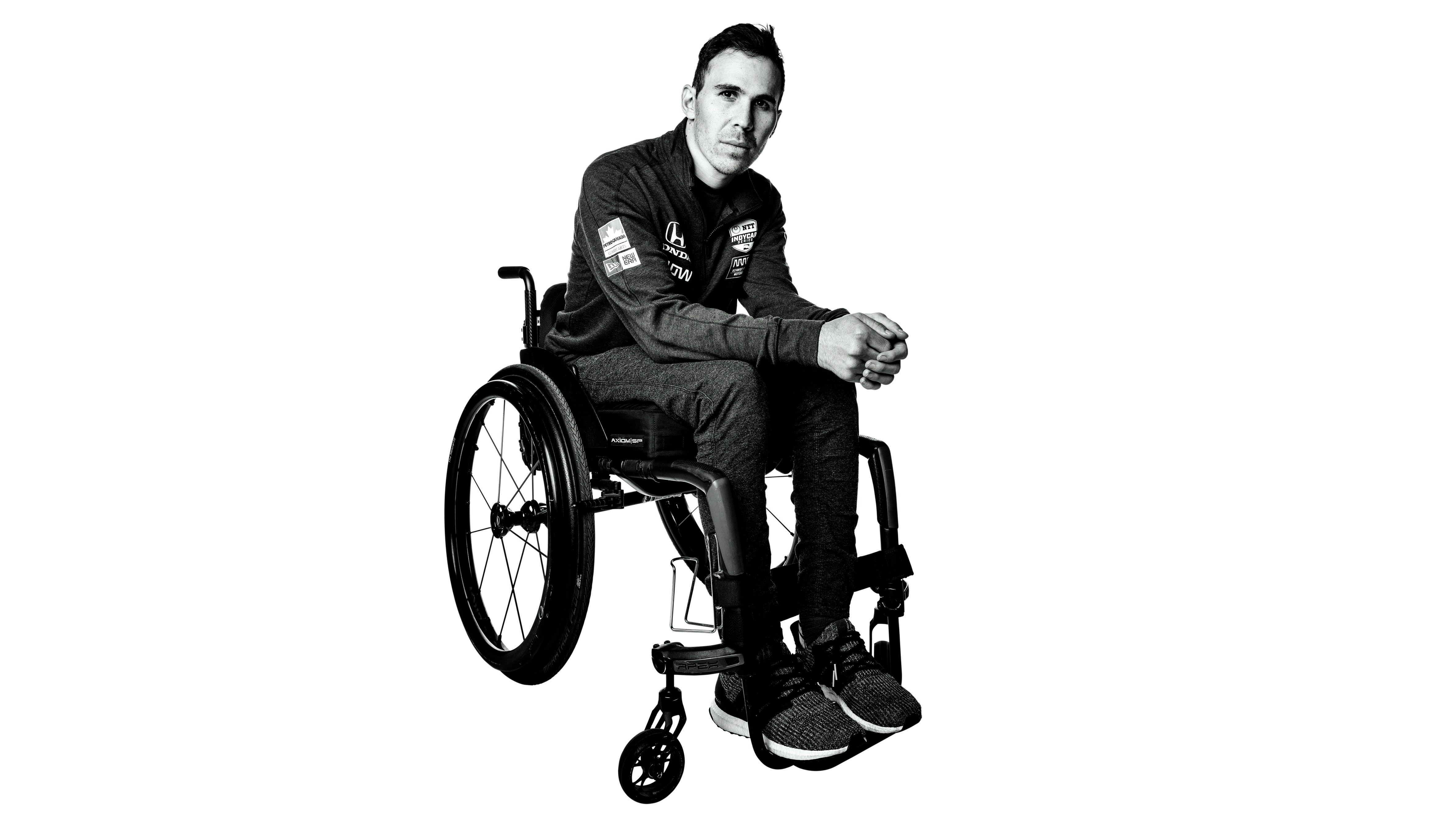 The Long Rise of Robert Wickens