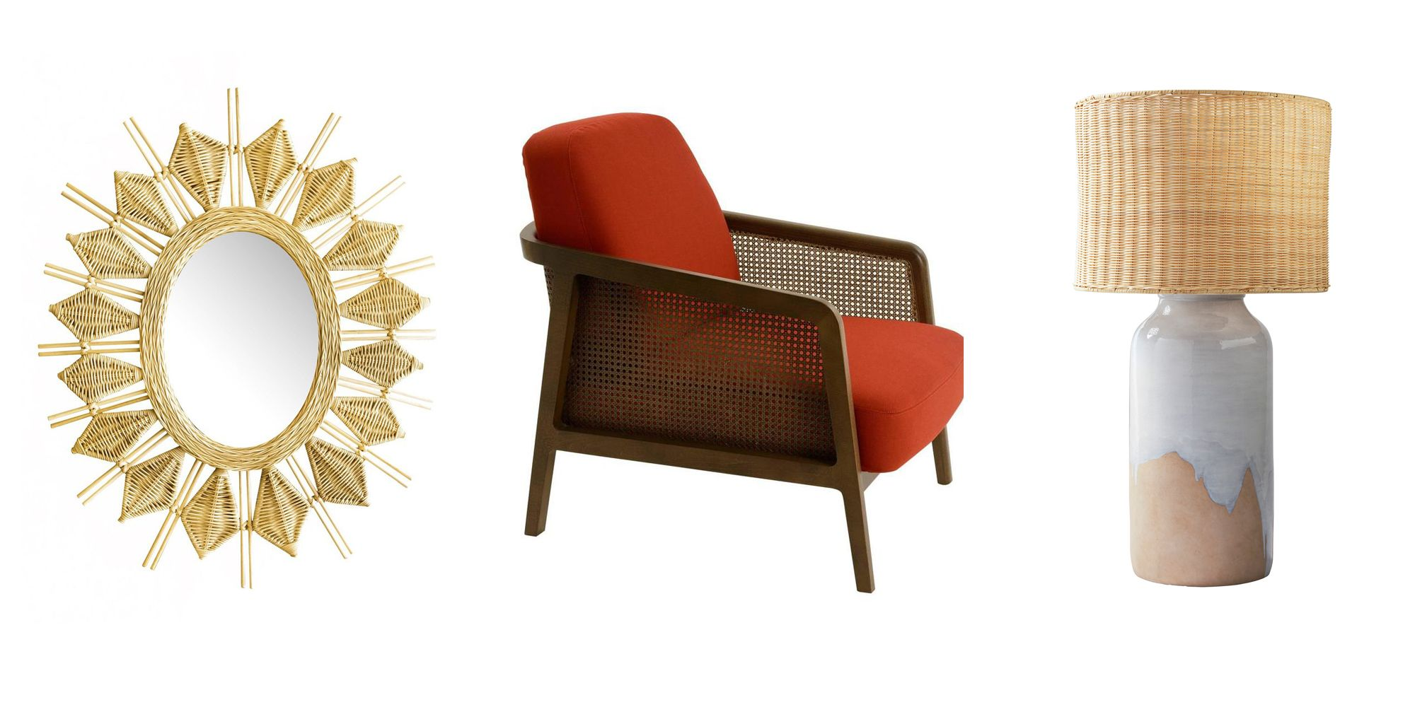 wicker furniture  sc 1 st  Elle Decor & Trend Alert: Year-Round Wicker Furniture u2014 Indoor Wicker Furniture