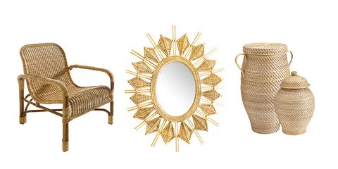 11 Pieces of Wicker Furniture And Decor That Add Texture To Any Room