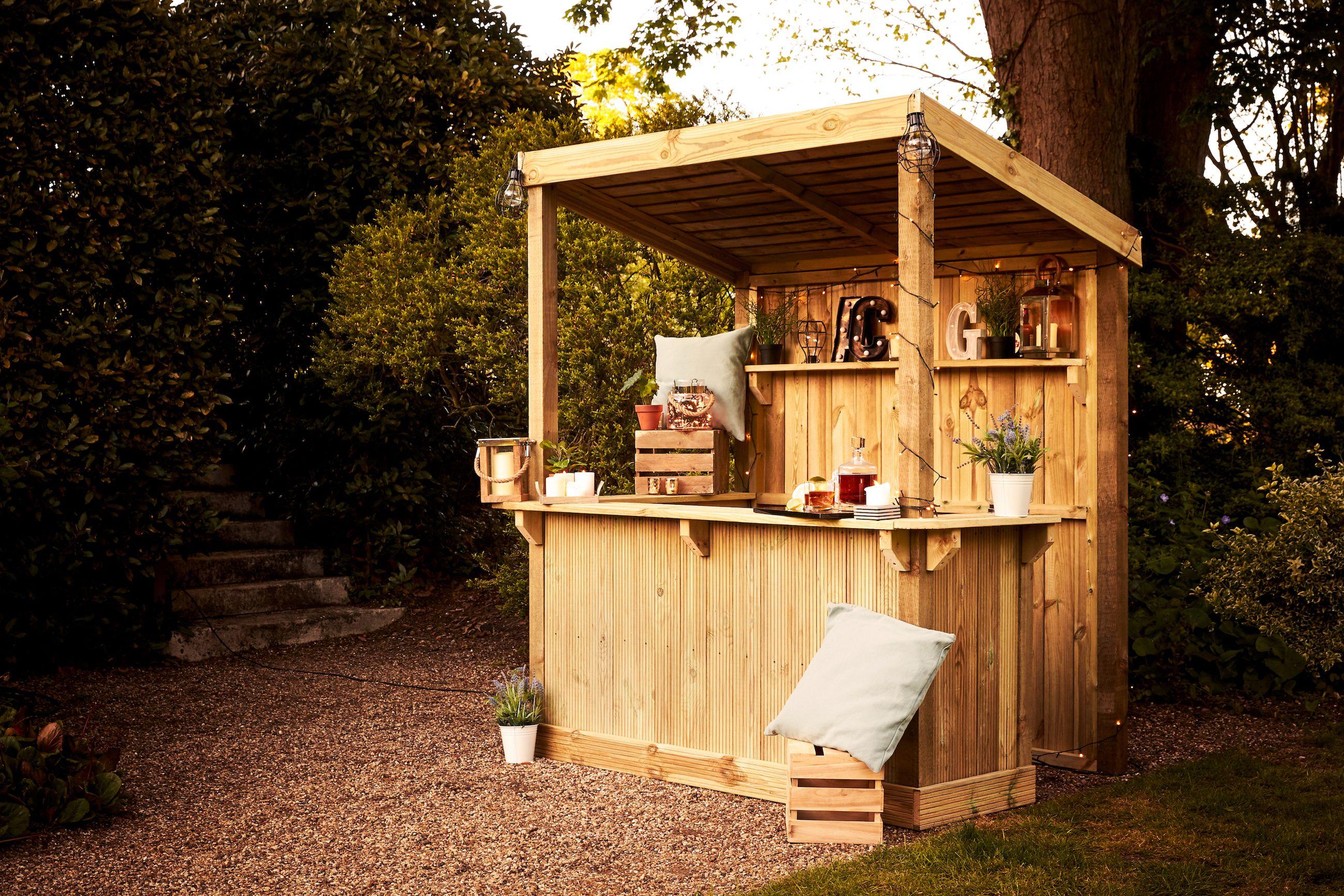Wickes Launches Build Your Own Garden Bar Garden Bar