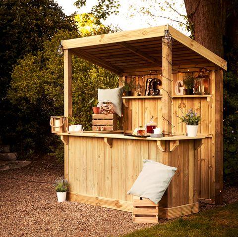 build your own garden bar