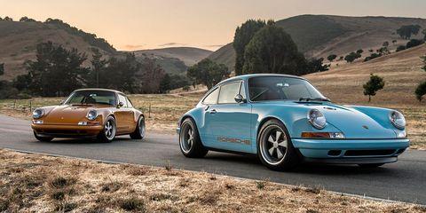 Land vehicle, Vehicle, Car, Regularity rally, Porsche 911 classic, Coupé, Convertible, Sports car, Porsche 912, Classic car,