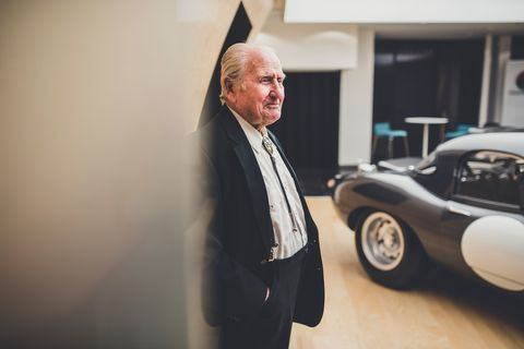 Former Jaguar Chief Test Driver Norman Dewis on Why He Turned Down Enzo Ferrari