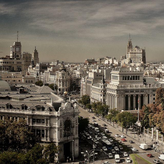 vista panoramica de madrid