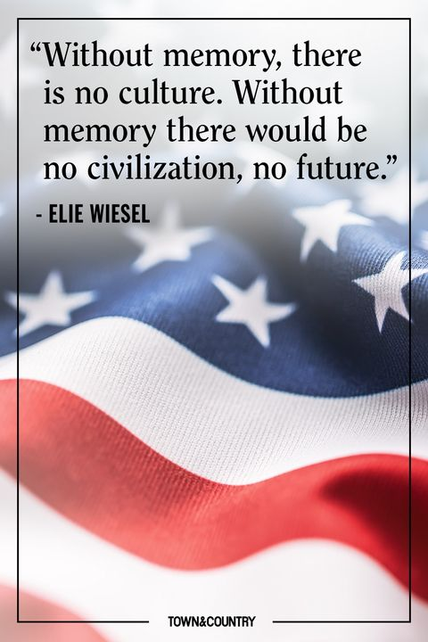 elie wiesel memorial day quote
