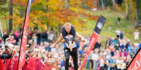 2. North American Wife Carrying Championships