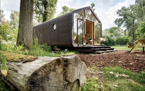 casa ecológica y sostenible