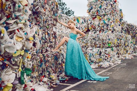 Dress, Fashion, Confetti, Fun, Gown, Formal wear, Photography, Photo shoot, Architecture, Stock photography,