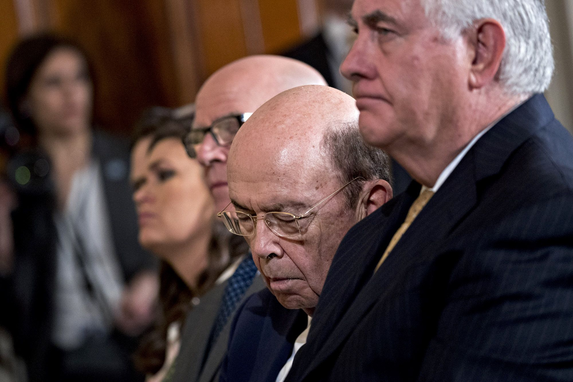 Wilbur Ross Is Sleeping Through the Burglary
