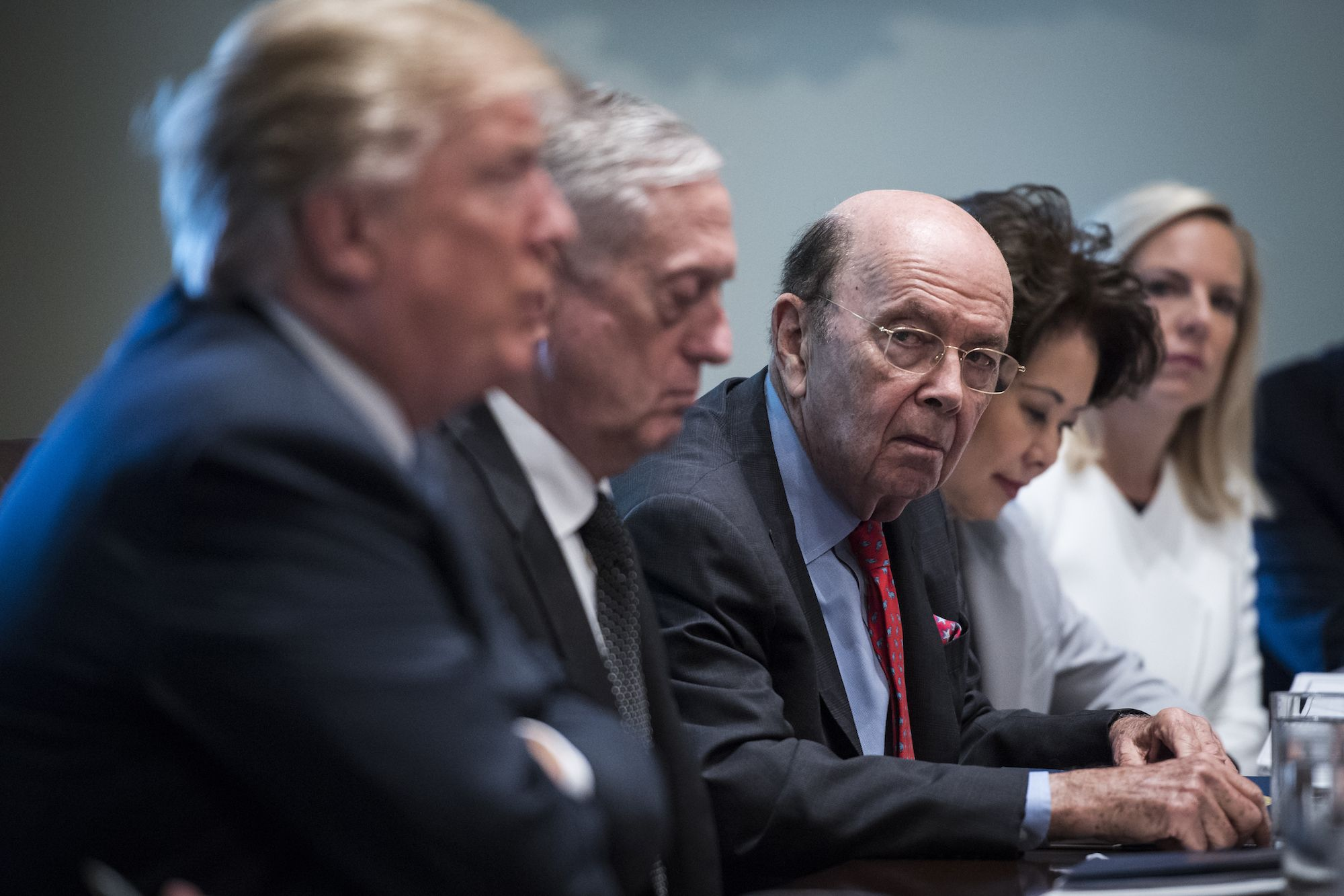 Wilbur Ross doesn't get enough attention as the most shameless operator in Donald Trump's orbit.