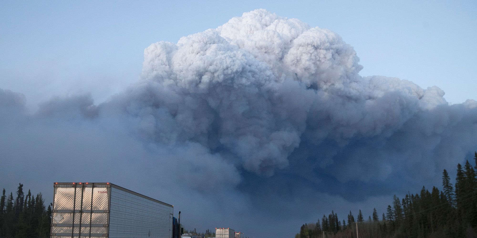 Wildfire Engulfs Fort McMurray Forcing Evacuations Of 80,000 People