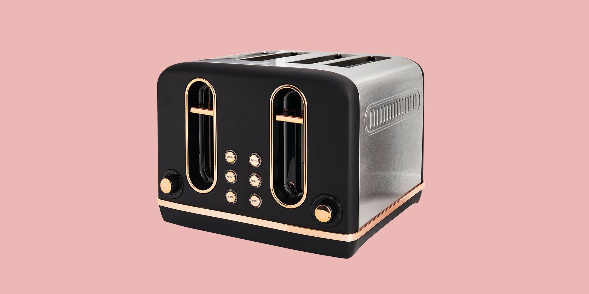copper kitchen, Toaster, Black toaster
