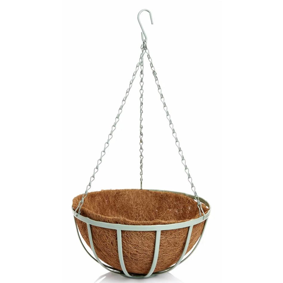 Wilko Round Hanging Basket with Liner