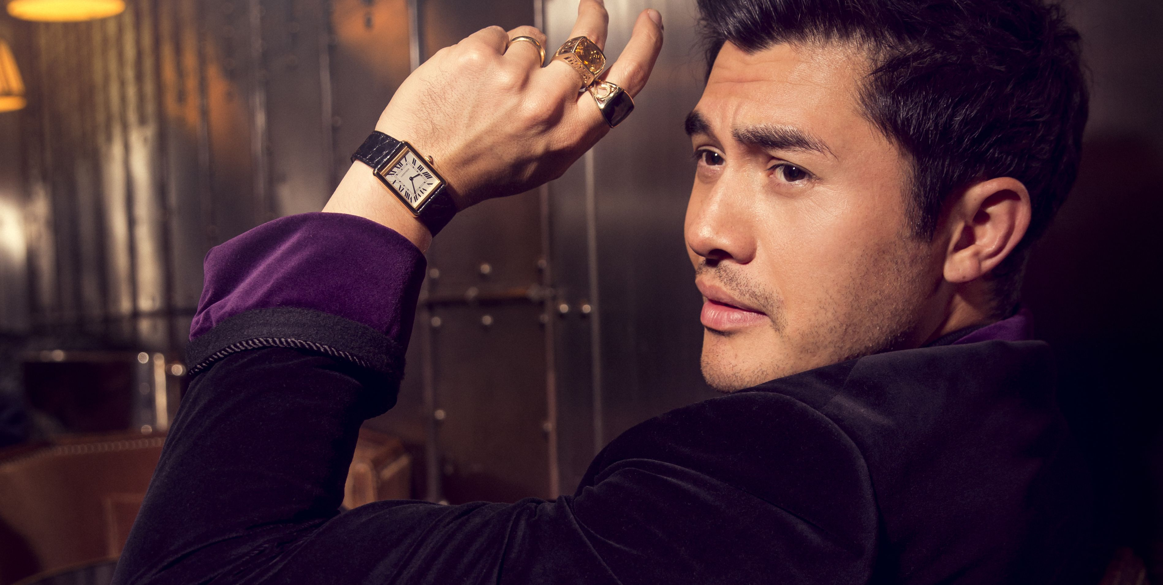 henry golding crazy rich asians style
