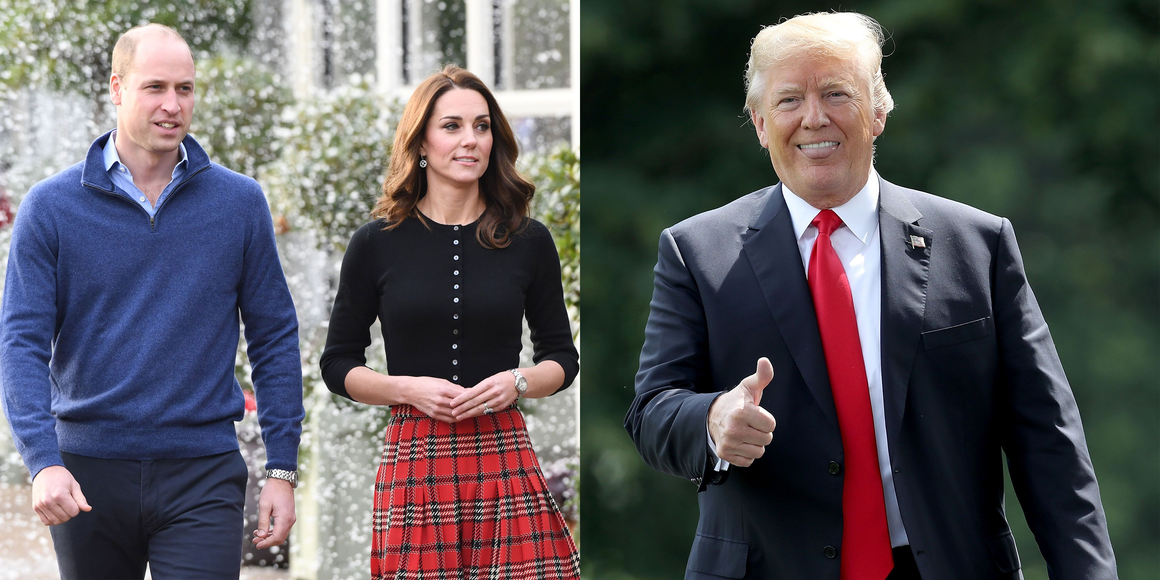 Will Prince William and Kate Middleton Meet Donald Trump?