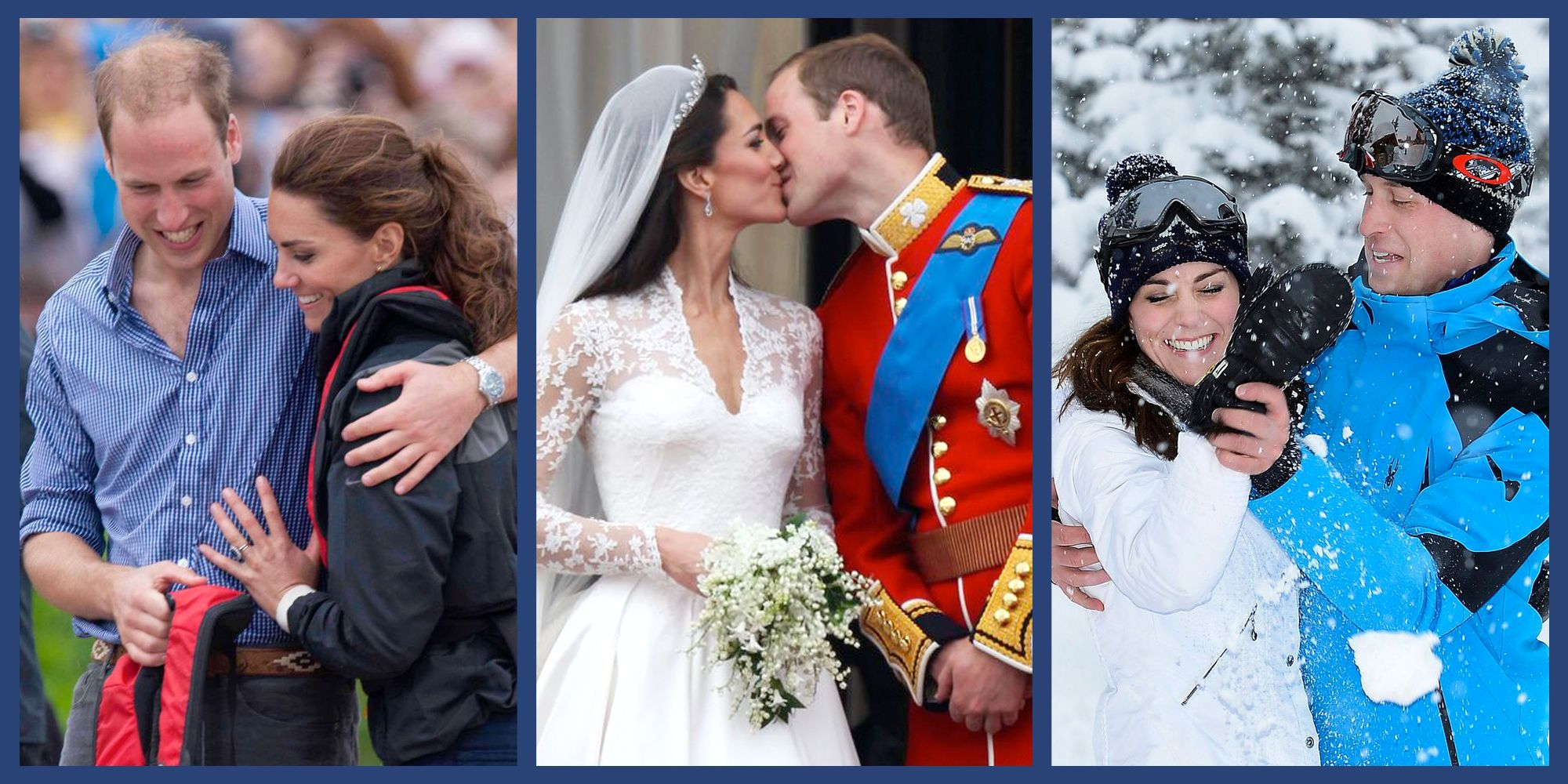 Prince William and Kate Middleton's 26 Sweetest Moments