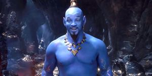 Will Smith als de Geest in Aladdin