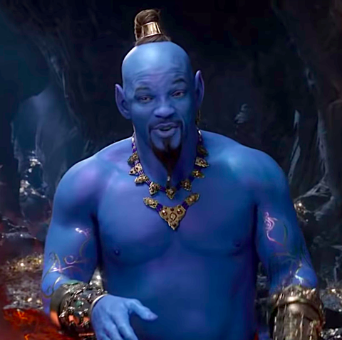 James Corden and Aladdin's Will Smith feud over who would be the best Genie