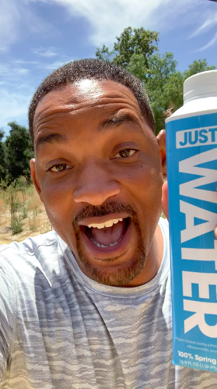 Will Smith announces JUST as water partner for the ASICS LONDON 10K