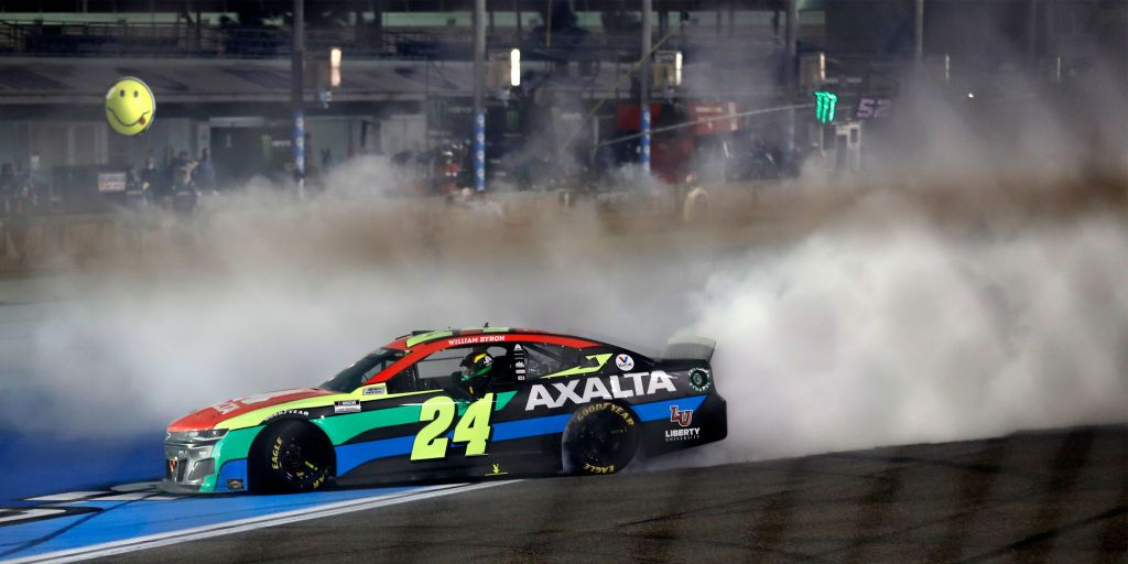 William Byron's Triumph at Homestead Gives NASCAR 3 Different Winners to Open Season