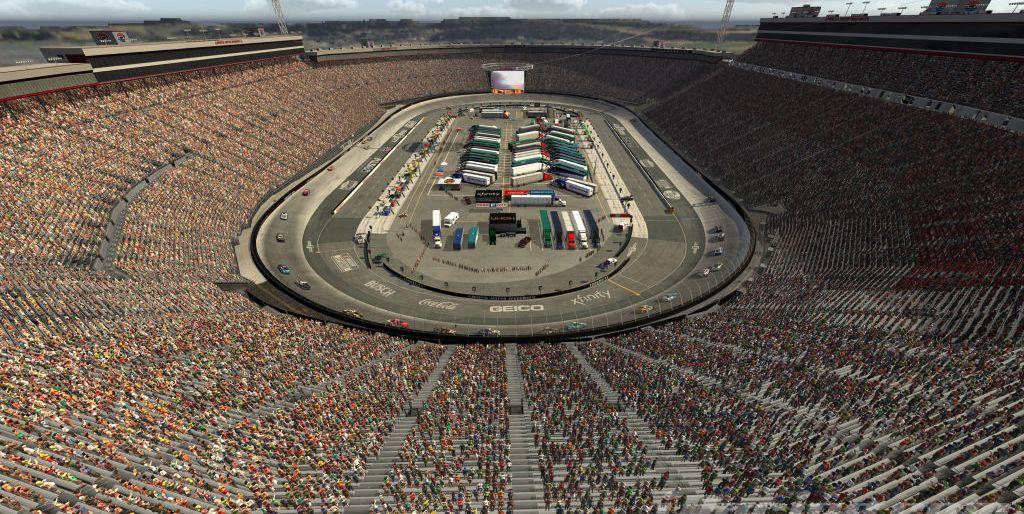 Gallery: eNASCAR iRacing at a virtual Bristol Motor Speedway