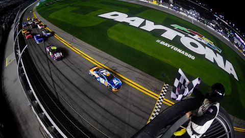 NASCAR Cup Series Bluegreen Vacations Duel 2